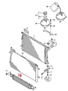 Genuine AUDI RSQ3 8UB Additional Cooler For Coolant 8U0121002