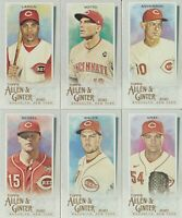 2020 Topps Allen & Ginter Cincinnati Reds Mini Lot (6) Barry Larkin Joey Votto