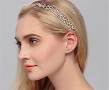 Diamant Coiffe strass Nuptial accessoires Noces de Cristal Cheveux Bordeaux