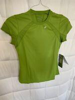 asics Hydrology Semi Fitted Reflective Womens XS Running Favorite T Shirt A-9