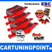 EBC FORROS DE FRENO DELANTERO Redstuff para Subaru interior 2 BL, BP DP31661C
