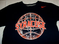 Syracuse Orange Basketball Blue Nike Regular Fit Mens Medium T-Shirt 100% Cotton