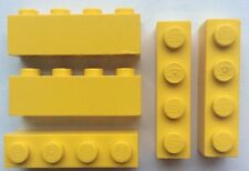 LEGO 3010 Jaune lot de 5 Brique Poutre 1x4 Brick Yellow