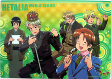 Hetalia Axis Powers World Series Group Plastic Desk Mat Anime NEW