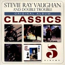 Original Album Classics [Five-Disc] by Stevie Ray Vaughan/Stevie Ray Vaughan & Double Trouble (CD, Jun-2013, 5 Discs, Sony Music)