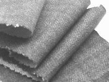 C44 schwarz Denim fein Ring spinenn Pure Baumwolle 369ml Made in Italy