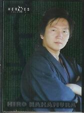 Heroes Season 2 Trading Cards Foil Chase Card #9 Hiro