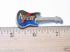 Vintage Accept Music Guitar Latch Back Pin (#35)