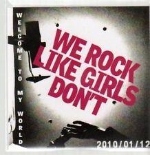 (AU76) We Rock Like Girls Don't, Welcome to My W- DJ CD
