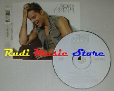 CD Singolo RICKY MARTIN Jaleo 2003 austria COLUMBIA 673663 2 (S1) mc dvd