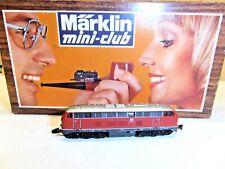 "MARKLIN MINI-CLUB Z ART.8875 LOCOMOTIVA DIESEL ""V 216"" BOX ORIGINALE"