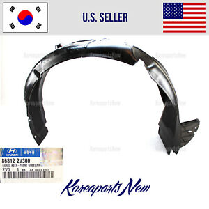 FRONT Fender Liner Right PASSENGER 868122V500 ⭐GENUINE⭐ Veloster Turbo 2013-2014