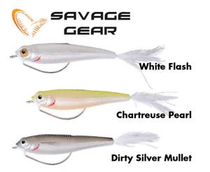 Savage Gear TPE weedless predator Minnow Lures 11.5gm 2cs ready to fish bargain