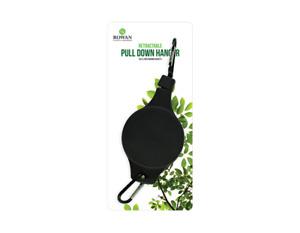 HANGING BASKET PULLEY RETRACTABLE WALL BRACKET HANGING GARDEN PLANT HOOK