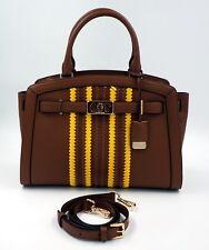 MICHAEL KORS Tasche Handtasche, Karson LG Satchel Leder Luggage Uvp: 495Euro NEU