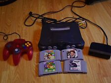 Nintendo 64 With four Games and Controller