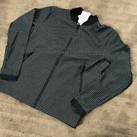 Nike Sportswear Tech Pack Grid Jacket Full-Zip Black Mens Size XL AR1578-010