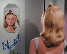 Barbara Bouchet Star Trek Tos in Person Original Signiert 8X10 @ Hollywoodshow