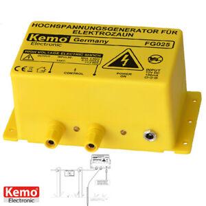 Kemo FG025 12V Weidezaun-Generator Hochspannungsgenerator 2kV pour Clôture (321