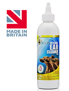 *VET STRENGTH* Dog Pro Ear Cleaner drops ,Itching,Mites,Wax,Odour dogs XL 230ml