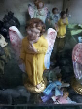 1 pastore ANGELO TERRACOTTA 8 cm pastori presepe nativity shepherds crib p