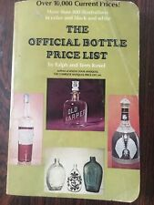 """Reference Book """"Official Bottle Price List"""" By Kovel 1971, Description & Prices"""