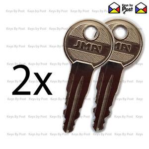 2 x Ford & Vauxhall VW Roof Bars, Keys, Two Digit  11-13-15-17-19-21-23-25-27-29