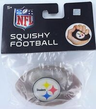 NFL Pittsburgh STEELERS Mini FOOTBALL Gel Stress Ball AFC Super Bowl PA Heinz