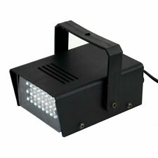 35 Watt Led Blue Mini Bright Strobe Flash Light with Speed Control Party Home