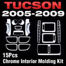 Interior Chrome Air vent Door Inside Catch Molding C357 For HYUNDAI 05-09 Tucson
