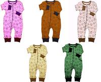Unisex Baby Footless,Baby-grow Sleepsuit Bodysuit,Playsuit Romper NB to 12month