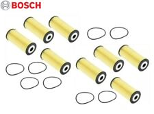 Fits VW Beetle Golf Jetta Passat Set of 8 Eng Oil Filters Bosch Workshop 72208WS