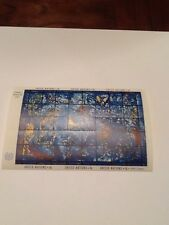 Vintage 1967 Chagall Window United Nations 6 cent Stamp