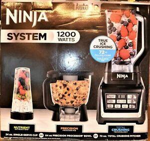 Ninja Auto-iQ Kitchen System, 1200 Watts, BL910 (NEW IN BOX)