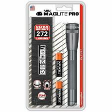 Maglite Mini Mag light 2 AA Cell battery LED PRO Flashlight 272 Lumens