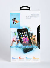 LifeProof nuud Waterproof Dust Proof Case for iPhone 6 Plus ONLY Black BRAND NEW