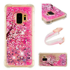 Cherry 3D Soft Hybrid Glitter Quicksand Painting Case Cover For Android Phone