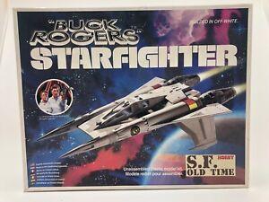 Buck Rogers STARFIGHTER Assembled Model Kit by Tsukuda Hobby Original Box