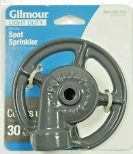 Gilmour Spot Sprinkler Watering Equipment Non-Clog Lawn Garden Covers up to 30ft