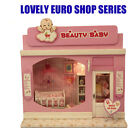DIY Adorable Wooden Doll House Miniature Beauty Baby Room Model Kit With w/Light