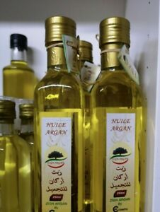 2X250ml Pure Moroccan extra virgin Cosmetic Organic Argan Oil.first cold press.