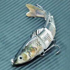 Multi Jointed Hard Fishing Lure Bait 4 Segment Swim-bait Fishing Tackle 150mm