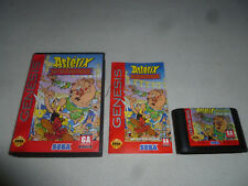 BOXED SEGA GENESIS GAME ASTERIX AND THE GREAT RESCUE COMPLETE W BOX & MANUAL CIB