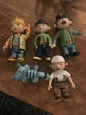 Bob the Builder Character Figures Toys Bundle