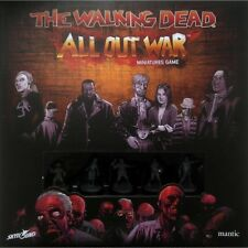 The Walking Dead All out War Board Game Mantic With Well Painted Miniatures Set2