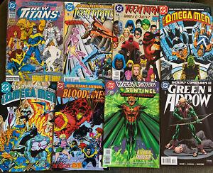Vintage DC Comic Book Lot Of 27