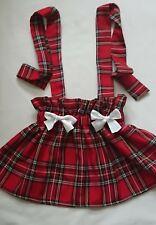 Baby's Skirt  Tartan print New