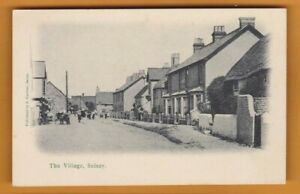 Sussex- The Village - Selsey.  Postcard