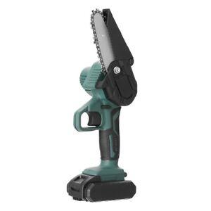 Mini Motosierra de mano eléctrica Batería Fácil de usar.Ideal para poda, Potente