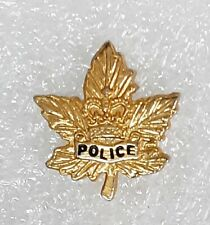 generic Canadian municipal police badge